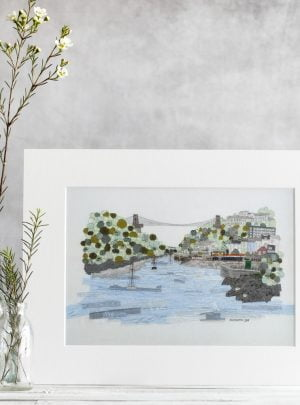 Clifton Suspension Bridge print