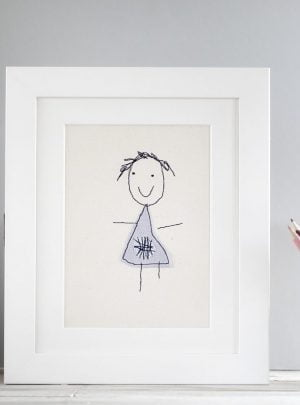 Childs drawing keepsake