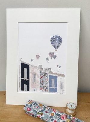 Bristol Balloons embellished print