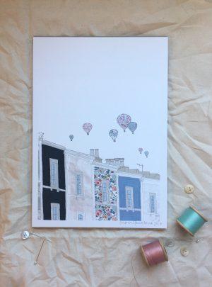 Bristol Balloons print