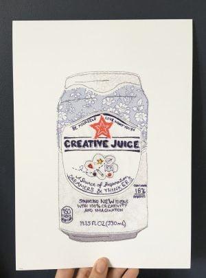 Creative juice print