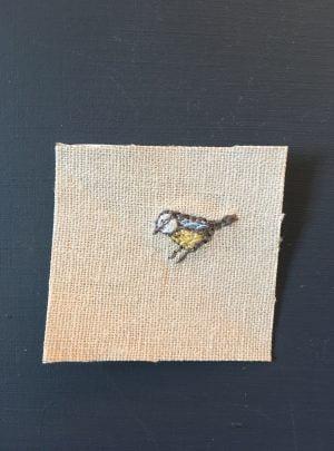 Blue Tit miniature – B