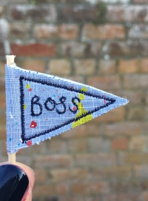 Makers pennant badge card – Boss