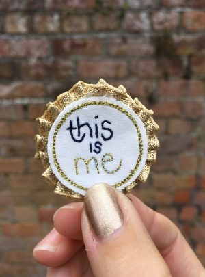 Rosette badge – this is me