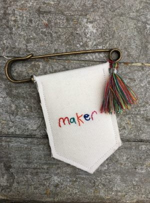 Dreamer/Maker banner badge