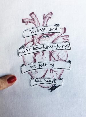 The best and most beautiful things…