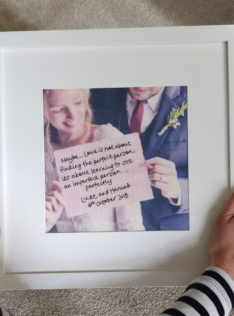 embroidered wedding anniversary photo picture