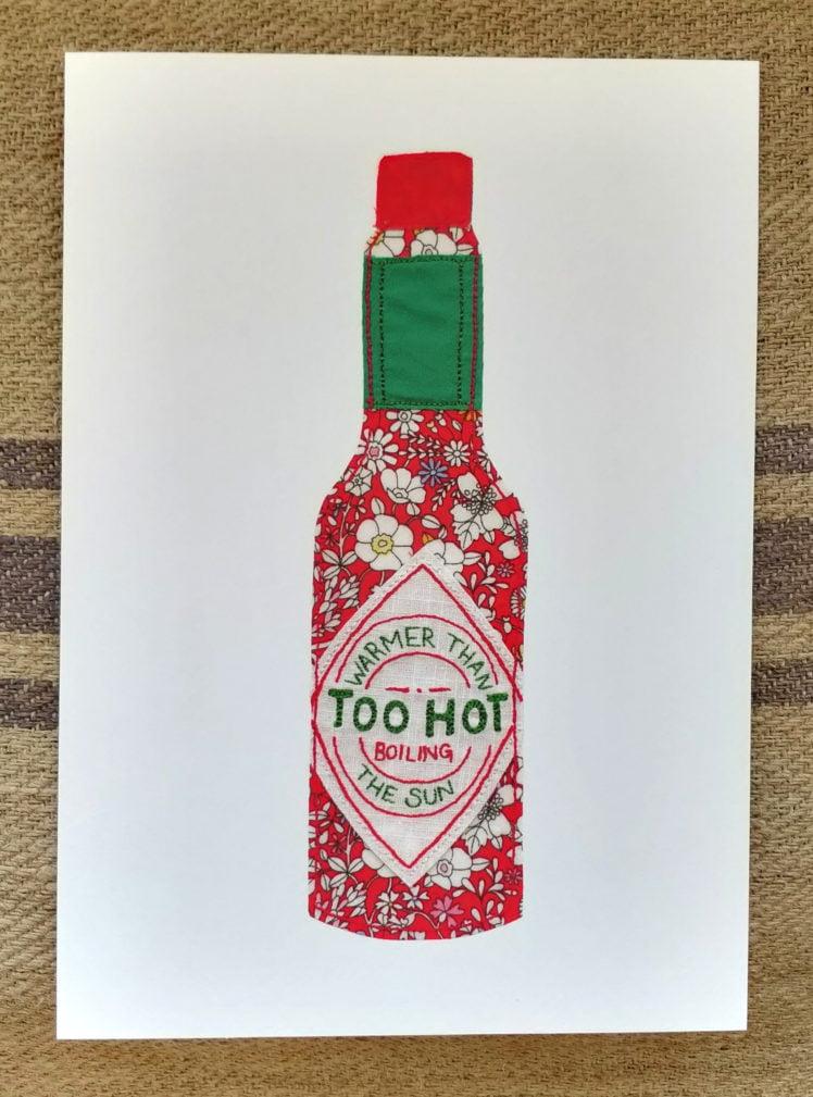 Too hot print